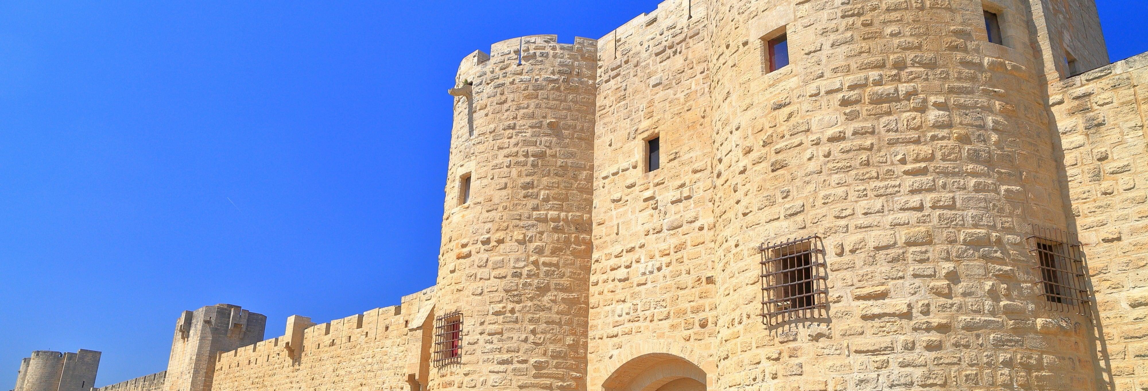 Ingresso da fortaleza de Aigues-Mortes