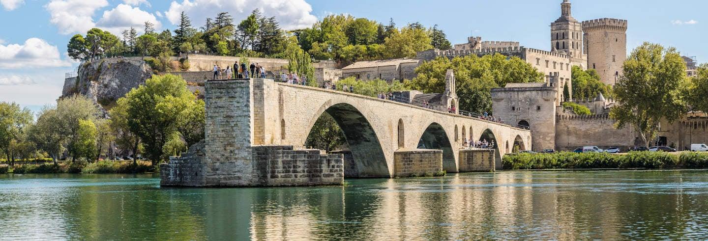 Avignon, Châteauneuf du Pape & Les Baux Day Trip
