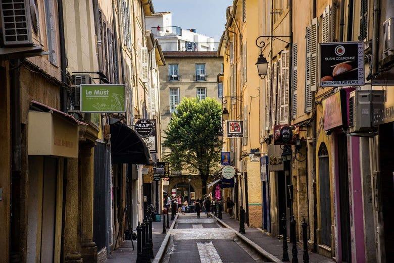 Visite gastronomique du marché d'Aix-en-Provence
