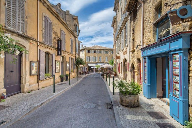 Roussillon, Lourmarin, Fontaine-de-Vaucluse + Marché provençal
