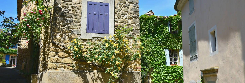 Excursion à Roussillon, Gordes et Lourmarin + Dégustation de vins