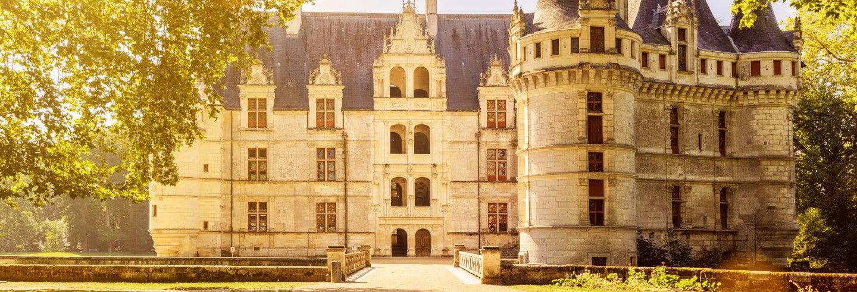 Tour por los castillos de Azay-le-Rideau, Rivau y Villandry
