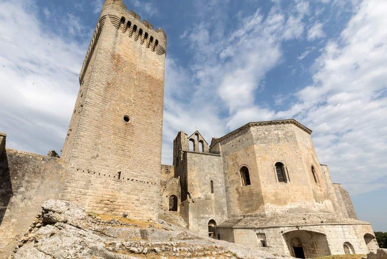 Entrée à l'abbaye de Montmajour sans file d'attente