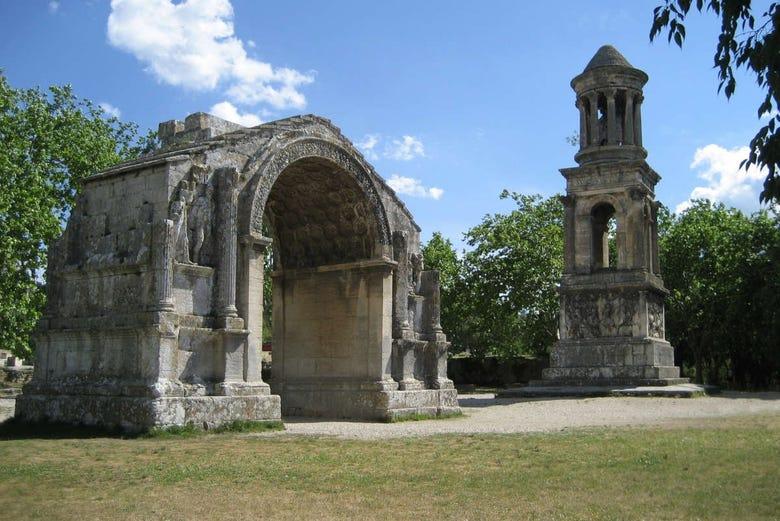 Excursion à Saint-Rémy, Pont du Gard et Les Baux