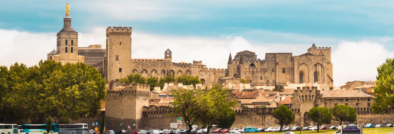 Visita guiada por Avignon e Palácio dos Papas