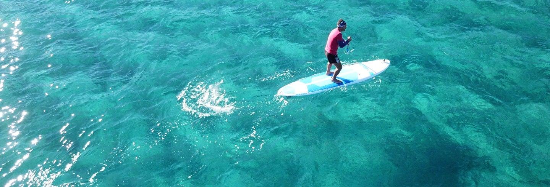 Noleggio di tavole da paddle surf