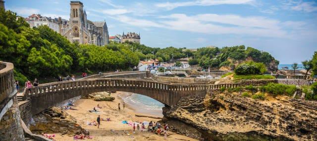 Tour privado por Biarritz con guía en español