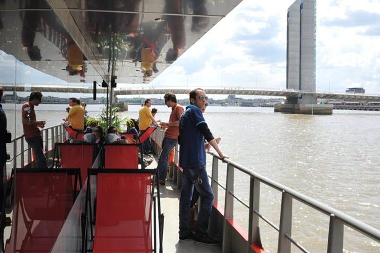 ,Crucero por el río Garona