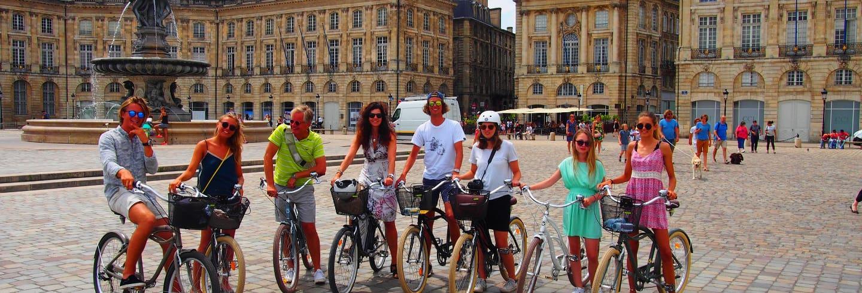 Tour por Burdeos en bicicleta