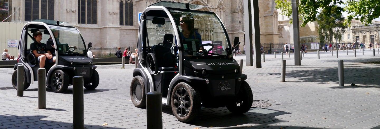 Tour en coche eléctrico por Burdeos