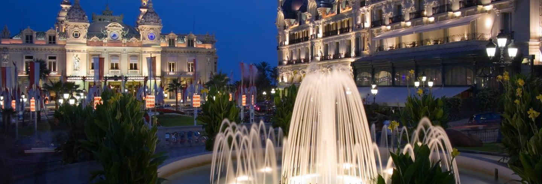 Excursion nocturne à Monaco