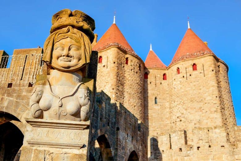 Visite privée de Carcassonne avec guide francophone