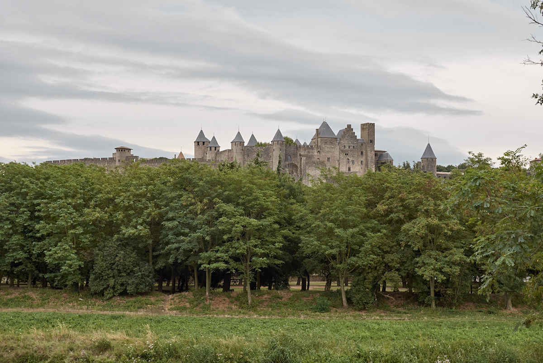 Entrée coupe-file au Château et remparts de Carcassonne