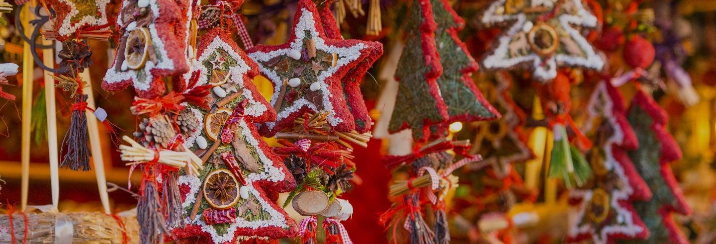 Tour pelos mercados de Natal da Alsácia