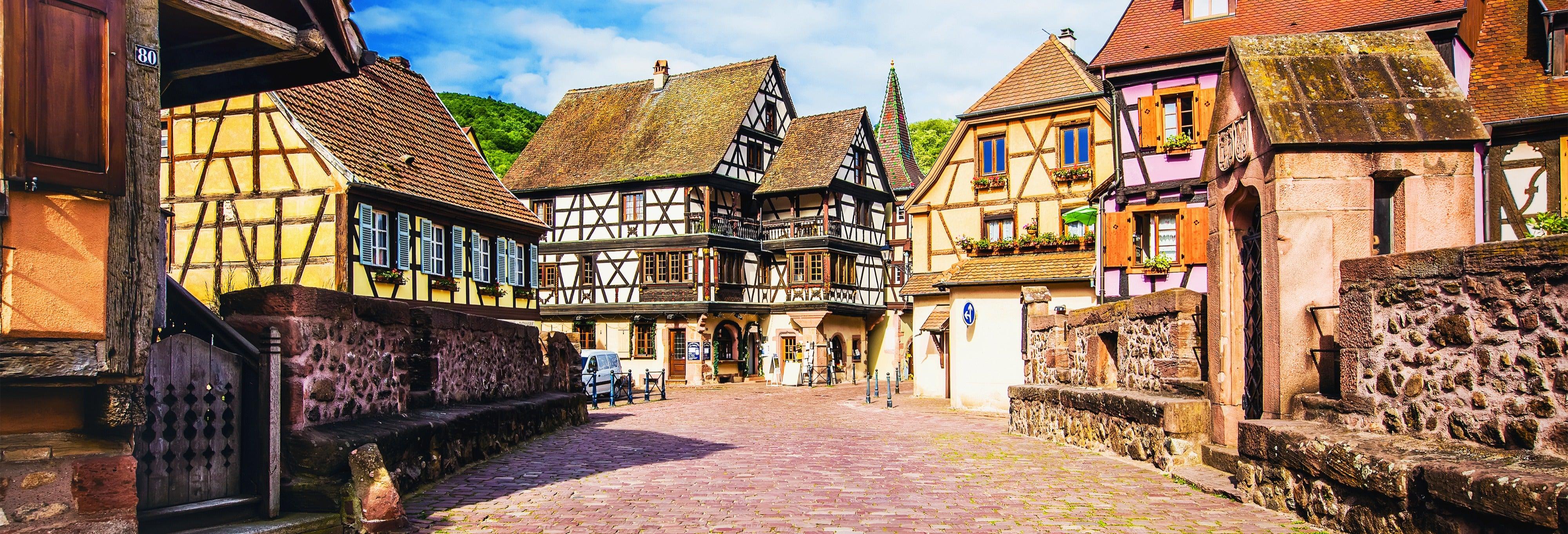 Tour dei villaggi dell'Alsazia