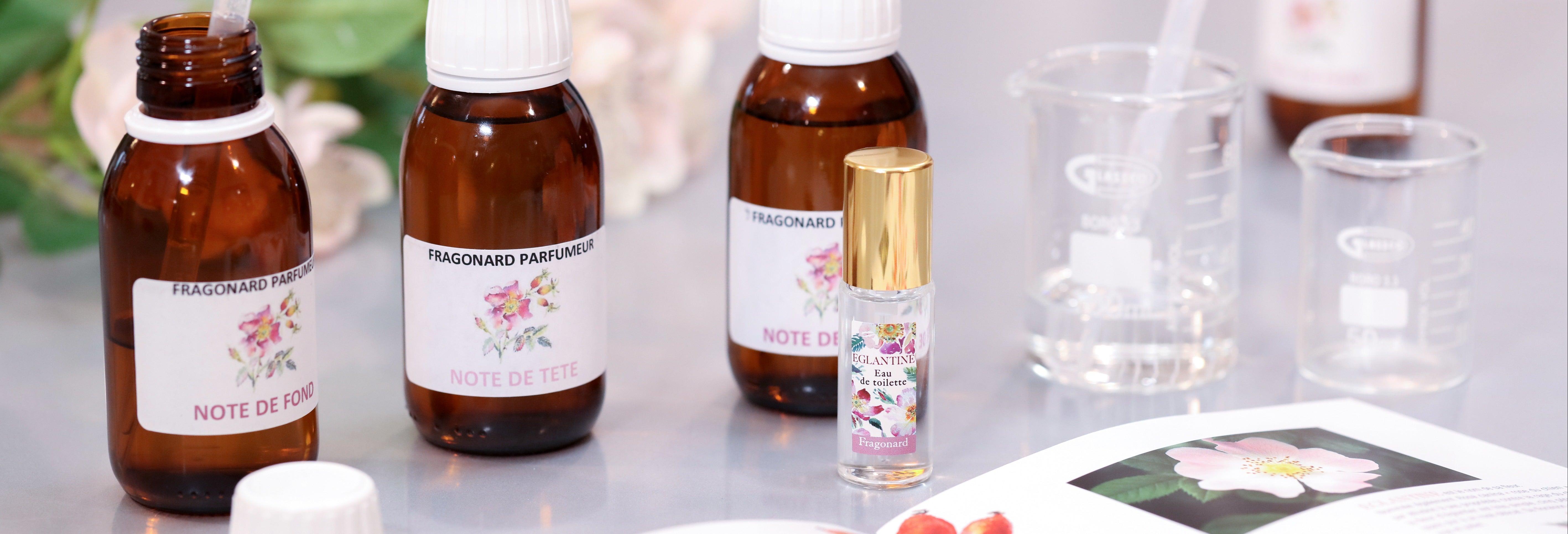 Laboratorio di creazione del profumo