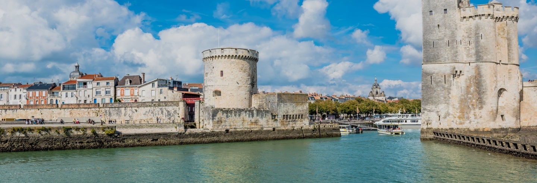 Ingresso das Torres de La Rochelle
