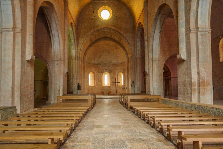 Billet coupe-file pour l'Abbaye du Thoronet, Le Thoronet