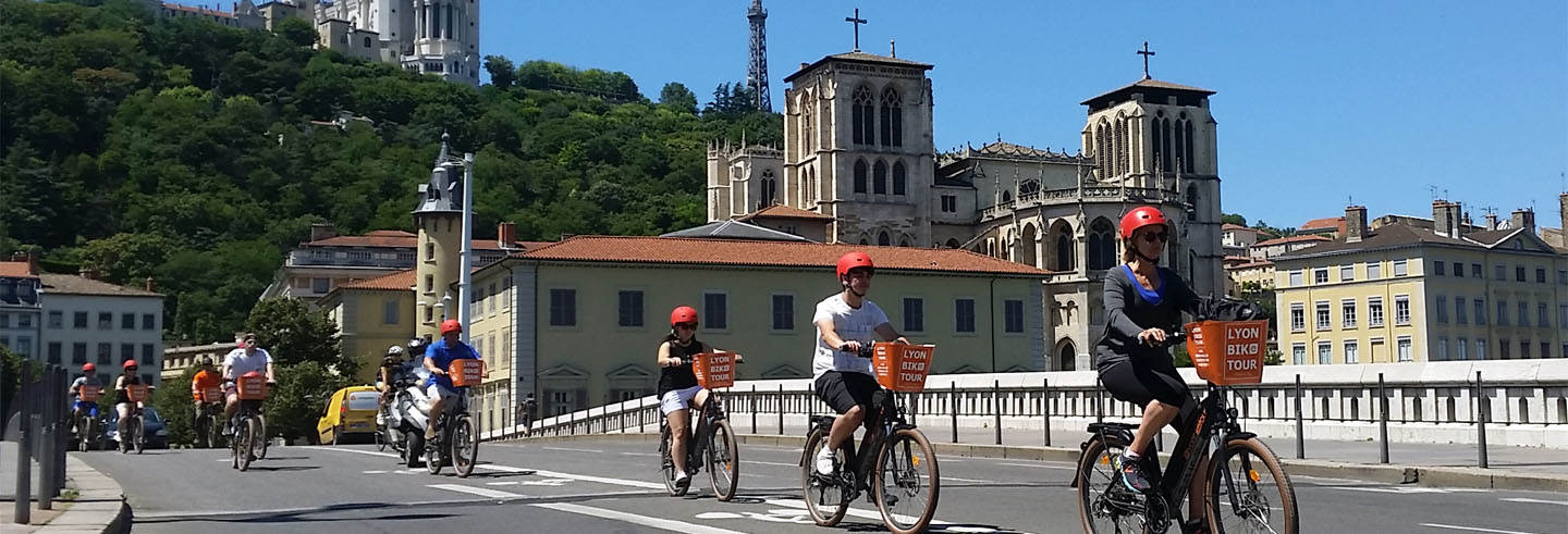 Visite à vélo dans Lyon