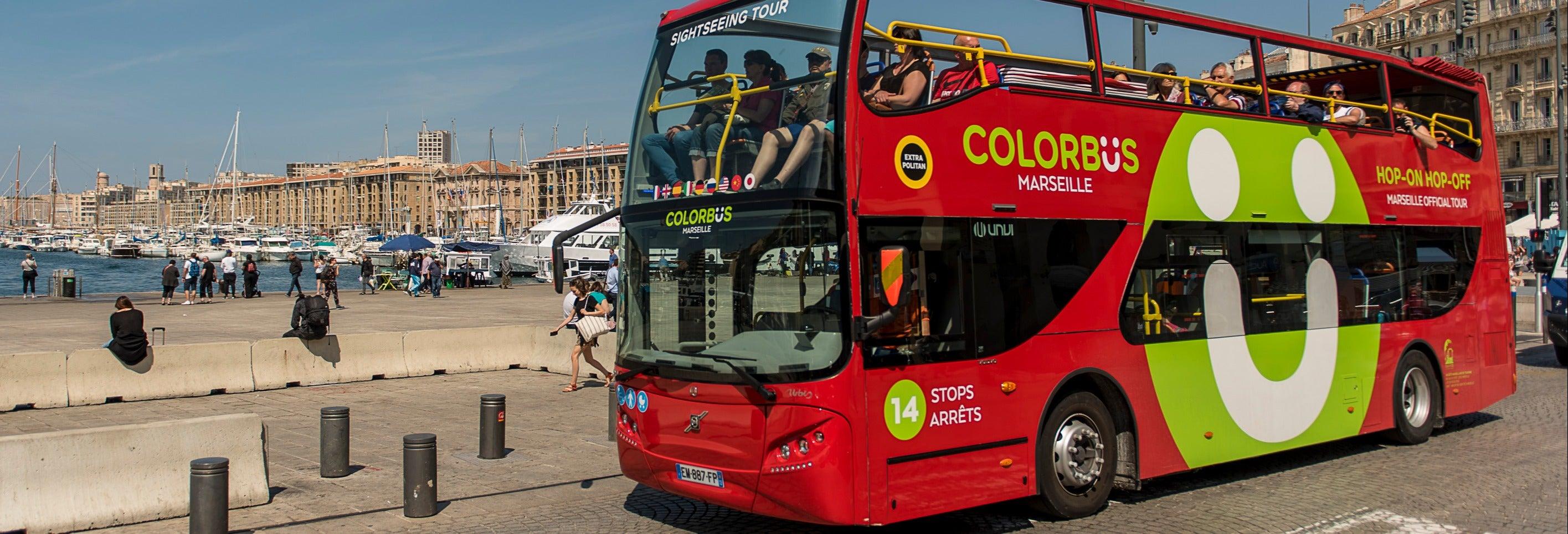Ônibus turístico de Marselha