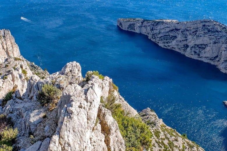 Visite panoramique de Marseille et de Cassis