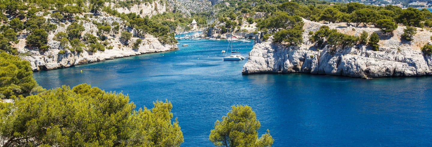 Marseille Tour & Cassis Calanques Cruise