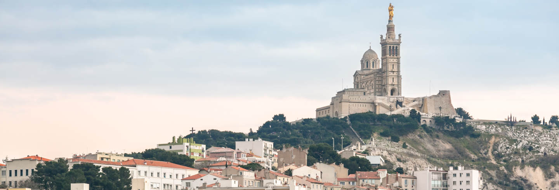 Visita guiada por Notre-Dame de la Garde y alrededores