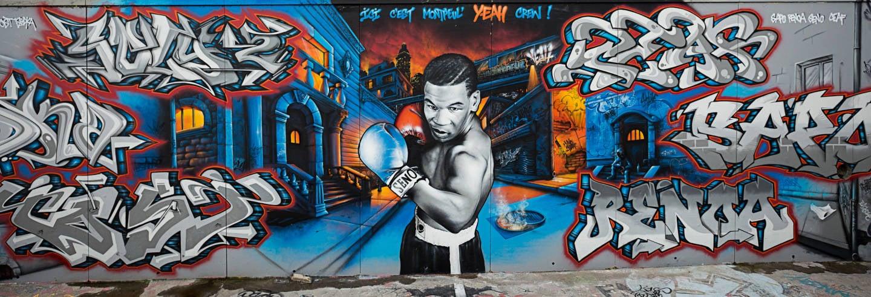 Tour del grafiti por Montpellier