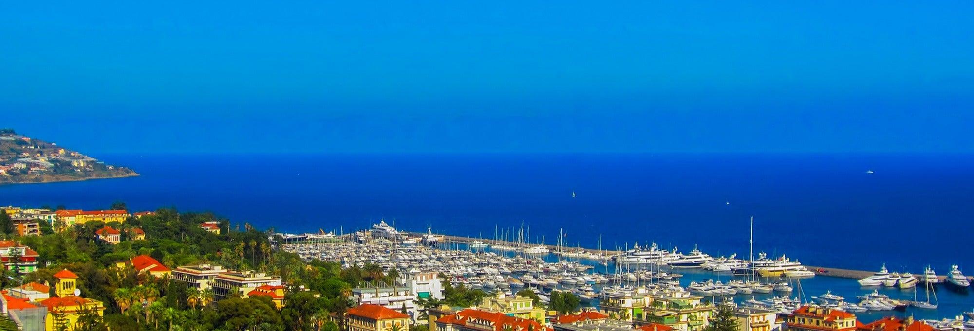 Excursão a Sanremo e Dolceacqua