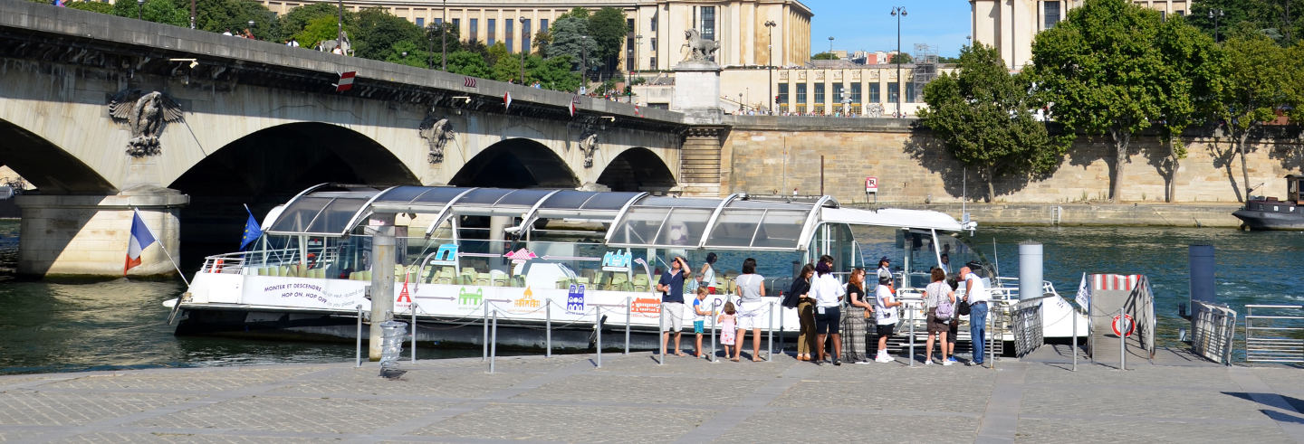 Hop-On Hop-Off Seine River Cruise
