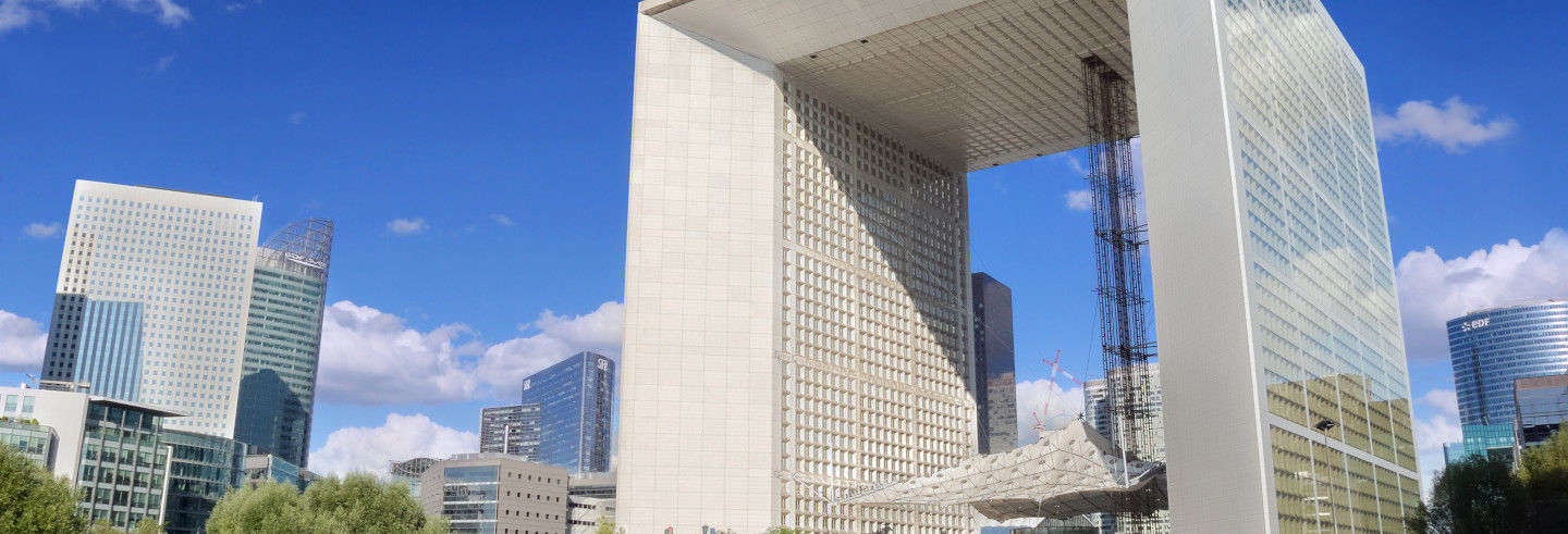 Grande Arche of Defense Ticket