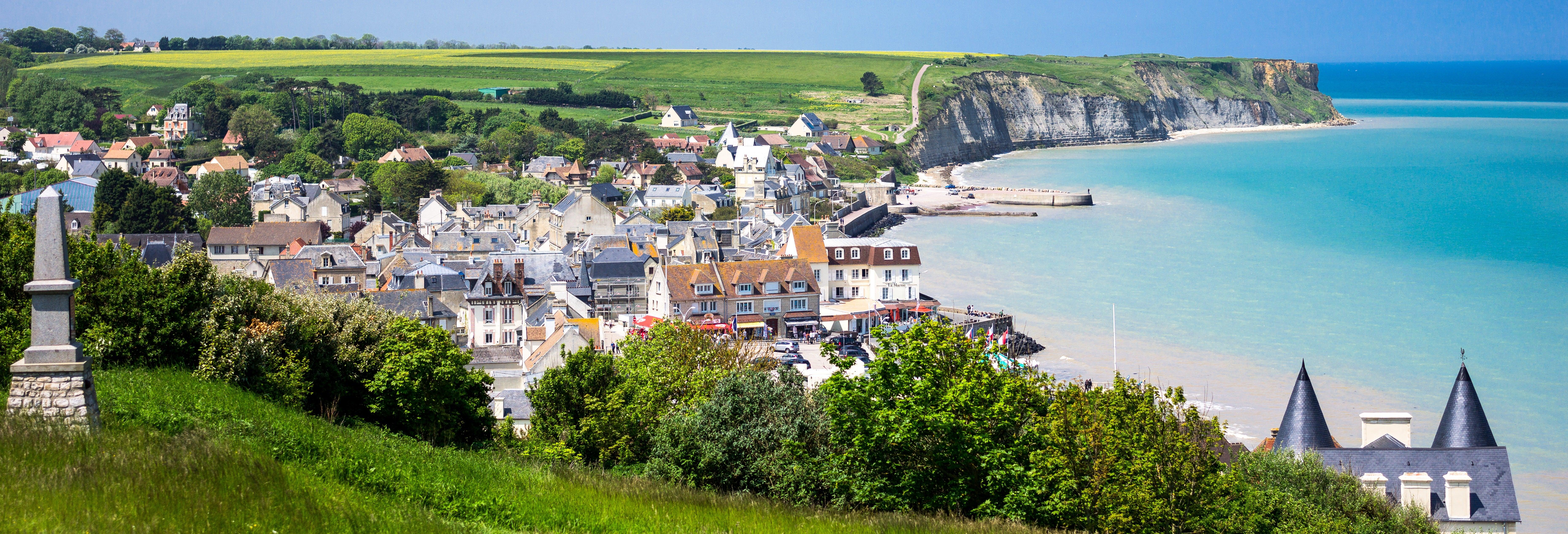 Excursão às praias do Desembarque da Normandia