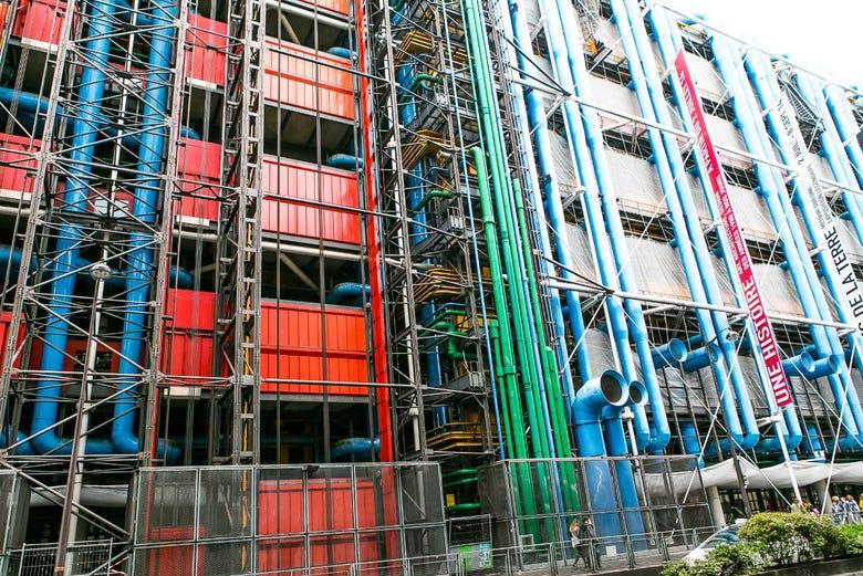 Billet coupe-file pour le Centre Pompidou
