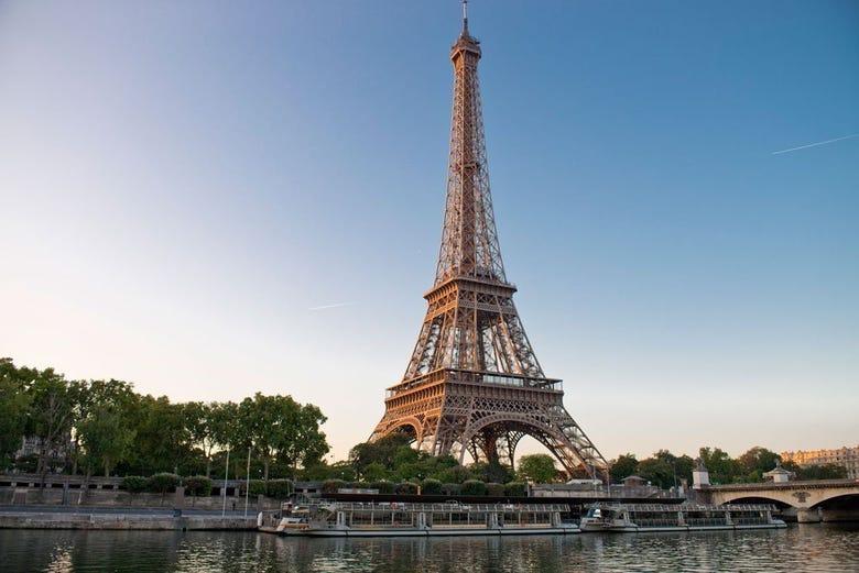 Tour Eiffel + Croisière sur la Seine