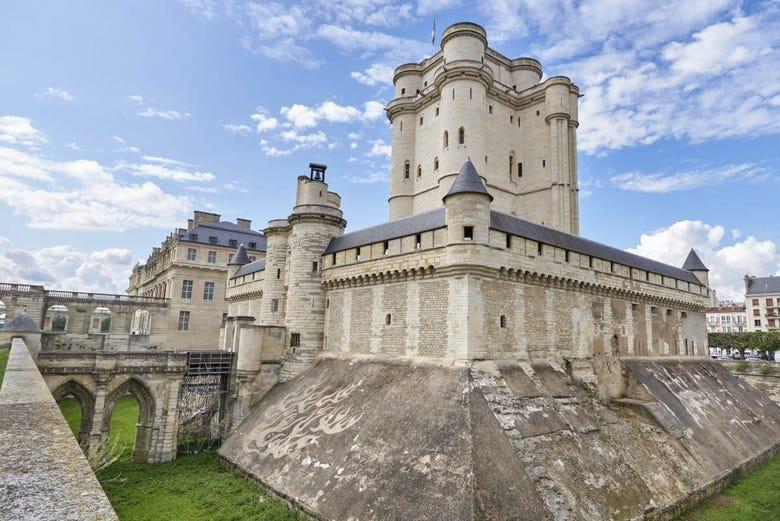 Billet coupe-file pour le Château de Vincennes et sa chapelle, Paris