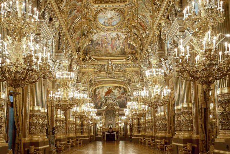 Tour des mystères et des légendes de l'Opéra Garnier