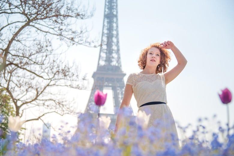 Séance photo dans Paris