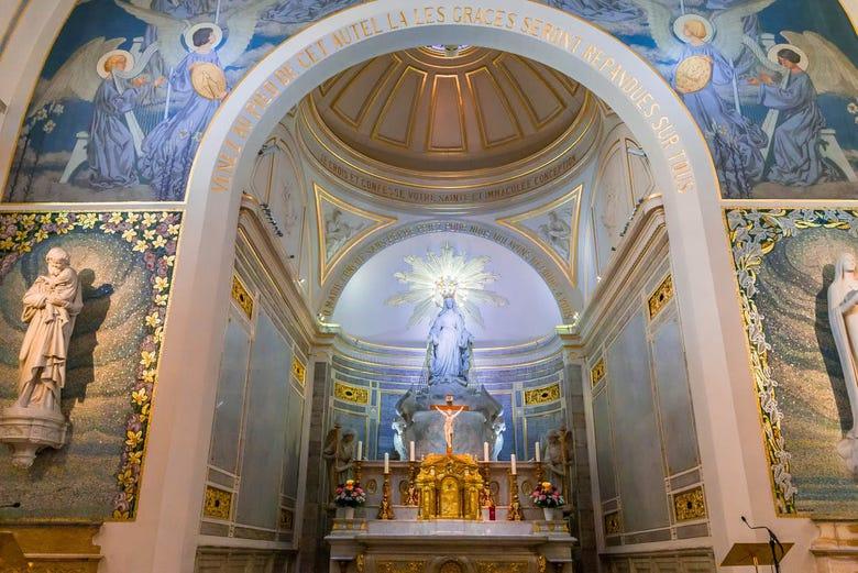 Visite de la Chapelle Notre-Dame de la Médaille Miraculeuse