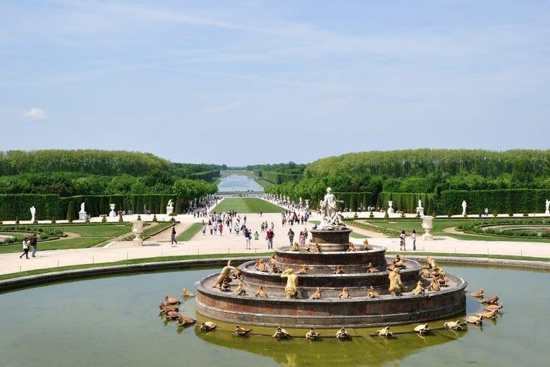 Giardini di versailles e chiostro francese nassau new providence