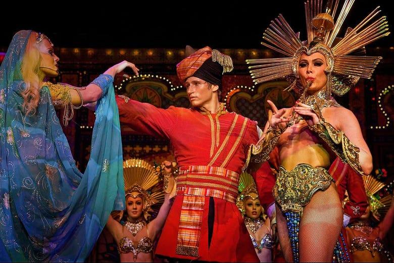Tickets d'entrée pour le Moulin Rouge