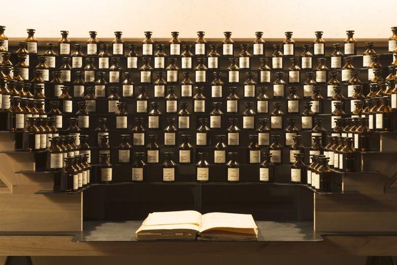 Miembros Honorarios del Museo del Perfume