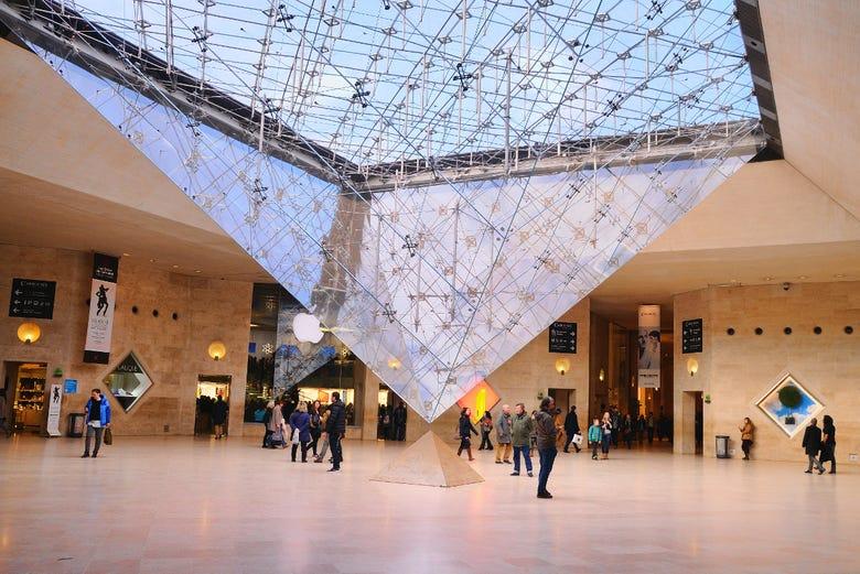 Billet coupe-file pour le Musée du Louvre