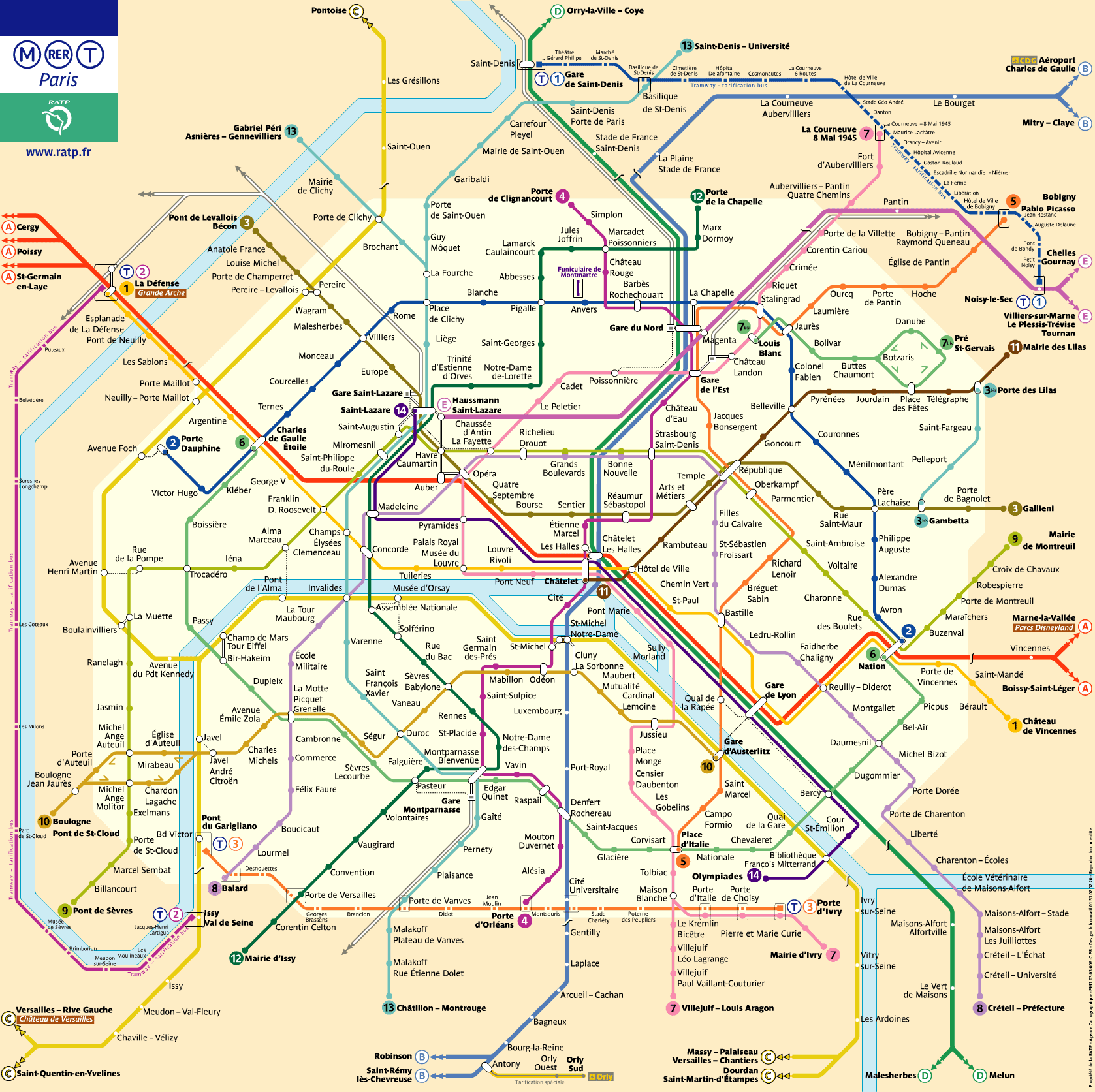 Paris Metro - The easiest and fastest way to get around Paris