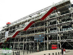 Museo Pompidou.Museums And Art Galleries Images And Photos Of Paris