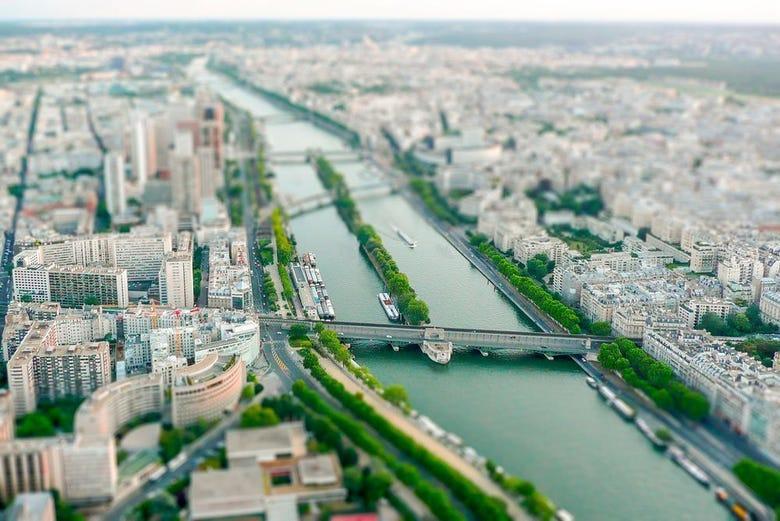 Visite guidée de la Tour Eiffel