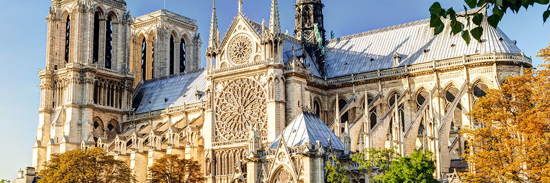 Notre Dame Cathedral Paris Most Famous Gothic Cathedral