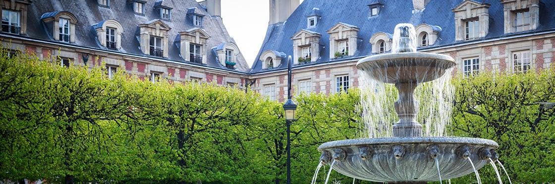 Le Marais e la Place des Vosges