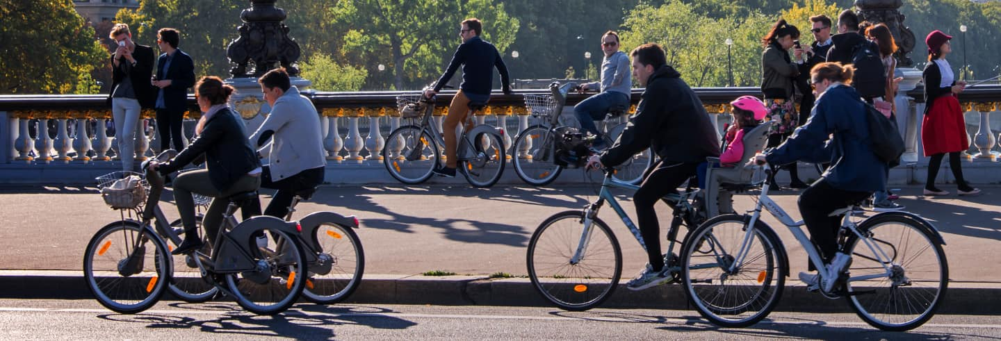 Tour della Parigi alternativa in bicicletta