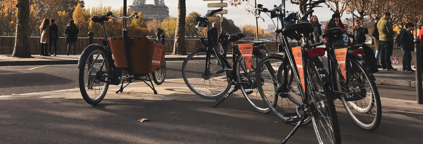 Tour por Paris de bicicleta