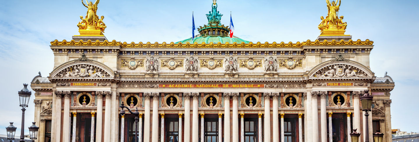 Tour pela Ópera Garnier e as galerias secretas de Paris